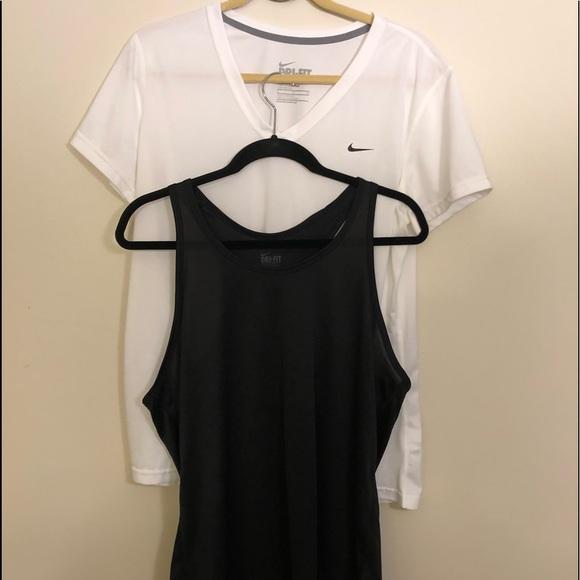 Set of 2 Womens Nike Dri FIT XL Tank Top Shirt 6984fba1df